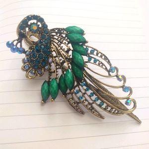 B1G1 💥 Antique Peacock Hair Pin